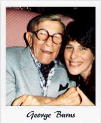 Roz and George Burns