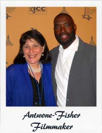 Roz Wolf and Antwone Risher